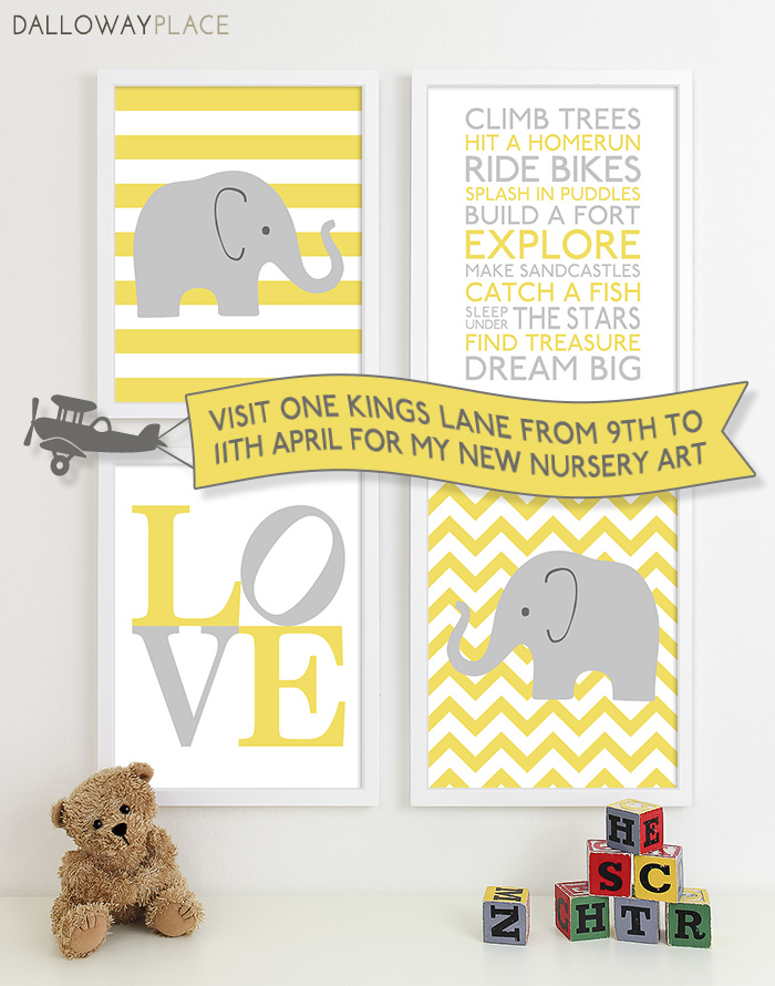 dalloway kids nursery prints