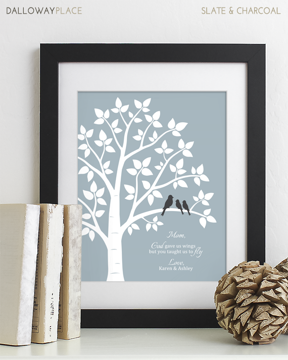 dalloway place mothers day print